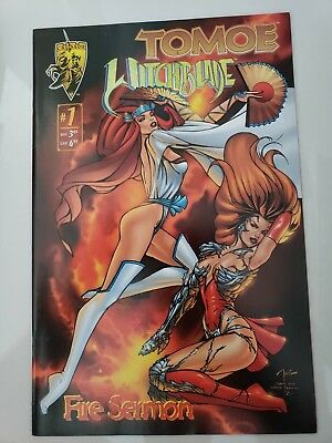 Tomoe / Witchblade: Fire Sermon #1 One-Shot Special (1996) Billy Tucci Cover Nm