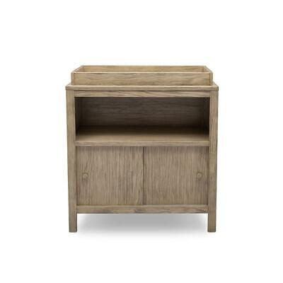 Delta Children Convertible Changing Table - Rustic Whitewash