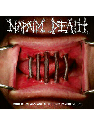 NAPALM DEATH coded smears and more uncommon slurs 2xLP NEW