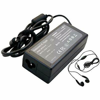 Amsahr Replacement 14 V 3 A 42 W AC Power Adapter with Stereo Earphone for SAMSU