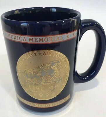 Women In Military Service For America Memorial Coffee Mug Cup Liberty 1994