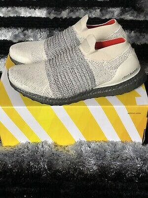 7d8f853f02f Adidas Ultra Boost Laceless CM8263 Men s Running Shoes Clear Brown White  Carbon