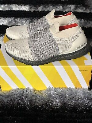 c1b26939f1a14 Adidas Ultra Boost Laceless CM8263 Men s Running Shoes Clear Brown  White Carbon
