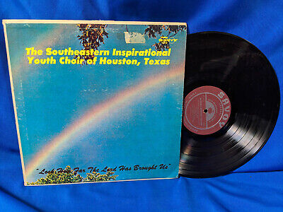 The Southeastern Inspirational Youth Choir of Houston Texas LP Rare Black Gospel