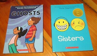Ghosts and Sisters paperback set by Raina Telgemeier  Scholastic