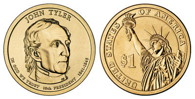 2009 P D S William Harrison Presidential Dollars Proof /& BU Flat Rate Shipping