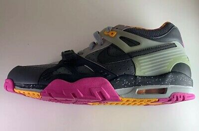 on sale b6086 3b690 Nike Air Trainer 3 III Bo Knows Horse Racing Size 11 682933-001 Checkered  Pink
