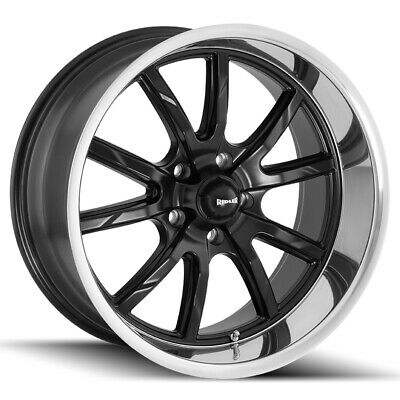 Cpp Ridler 650 Wheels 17x7 17x8 Fits Dodge Charger Coronet Dart