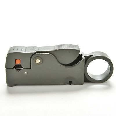 Cable Stripper For RG59 RG6 RG11 Coaxial Wire Coax Stripping Tool Kits TO