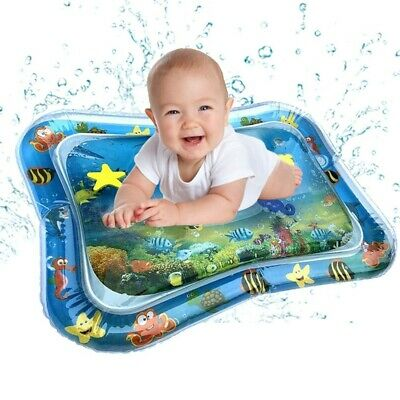 Inflatable Baby Water Mat Fun Activity Play Center For Children And Infants US