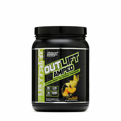 Nutrex Research OUTLIFT AMPED - Peach Pineapple