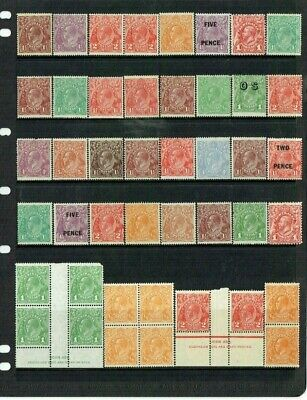Australia Kgv Heads Mint Unsorted Accumulation On Hagner