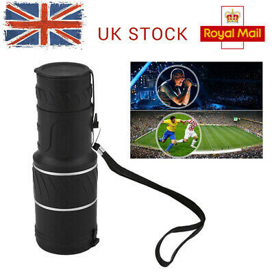 30x52 HD Focus Day Night Vision Lens Optical Outdoor Monocular Telescope Hiking