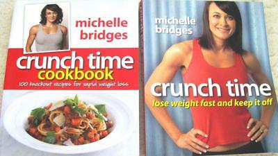 Michelle Bridges Crunch Time + Crunch Time Cookbook 100 Knock Out Recipies