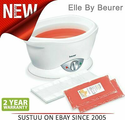 Elle by Beurer MPE70│Paraffin Wax Bath│Skin Moisturiser for Hands Elbows & Feet