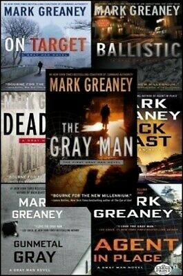 (7 AUDIOBOOKS) The Mark Greaney Collection MP3 UNABRIDGED