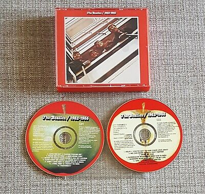 The Beatles - 1962-1966 (Red Album) - Emi/apple Cd - 1993