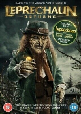 Leprechaun + Leprechaun Returns (Jennifer Aniston Ken Olandt) New DVD