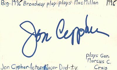Cards & Papers Bright Roy Scheider Actor Jaws Movie Autographed Signed Index Card Jsa Coa