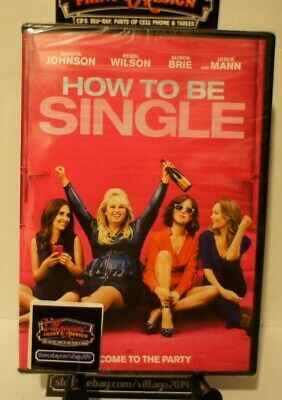 How to Be Single  NEW DVD FREE SHIPPING!!!