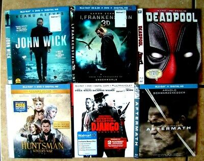 25 Blu-Ray Slipcovers Choose From Lot (SLIP COVERS ONLY) No movies or cases