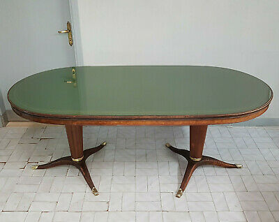 Italian Rosewood Dinin Table At The Manner Of Osvaldo Borsani From 1950