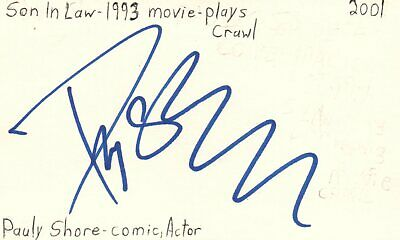 Orlando Jones Actor Comedian Evolution Movie Autographed Signed Index Card Autographs-original Cards & Papers