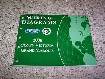 2004 MERCURY GRAND Marquis Electrical Wiring Diagram Manual ... on