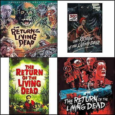 Great Movie To Watch Together The Return Of The Living Dead Collector's Edition