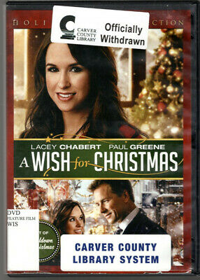A Wish for Christmas ~ Lacey Chabert; Paul Greene DVD