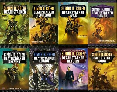 (10 AUDIOBOOKS) The DeathstalkerSeries by Simon R. Green MP3-DVD UNABRIDGED