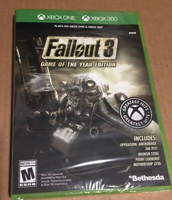Fallout 3 Game Of The Year Edition Xbox One And Xbox 360 GOTY