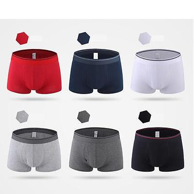 Men's Comfy Sexy Soft Underwear Boxer Briefs Shorts Bulge Pouch Underpants New