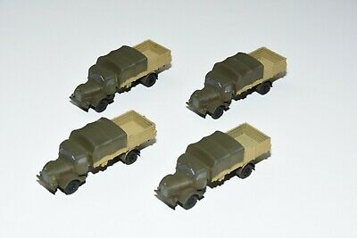 One Mercedes L 4500 Truck lot HO scale  1/87 Wagon Load WWII Marklin Painted