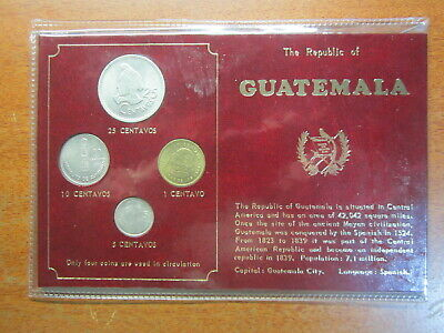 The Republic Of Guatemala Coin Set World Coins