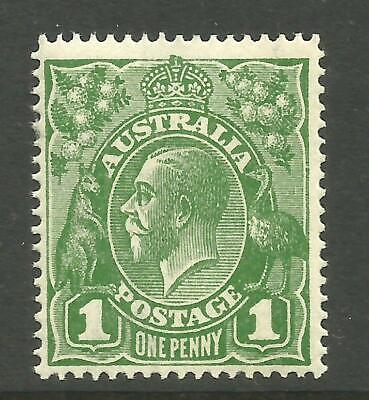 KGV - 1d Sage-Green (Single w/m) *RA JOINED* *MINT UNHINGED* SG 76d (CV $150+)