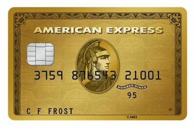 American Express Gold Card CUSTOMIZED