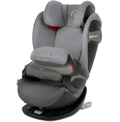 Cybex Pallas S-FIX - Manhattan Grau - Group 1-2-3 Children Car Seat New
