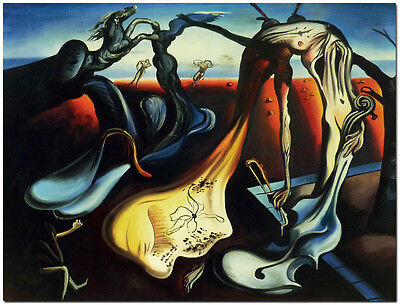 Daddy Longlegs of the Evening - Hand Painted Salvador Dali Oil Painting Canvas