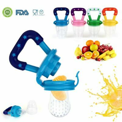 Baby Silicone Teether Fresh Bite Food Fruit Feeder Infant Pacifier Teething