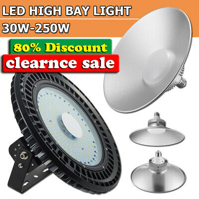 50W 100W 200W500W LED UFO High Bay Light Commercial Warehouse Industrial Factory