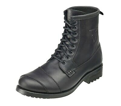 GENUINE Triumph Classic Black Leather Casual Motorcycle Boot 30% OFF RRP