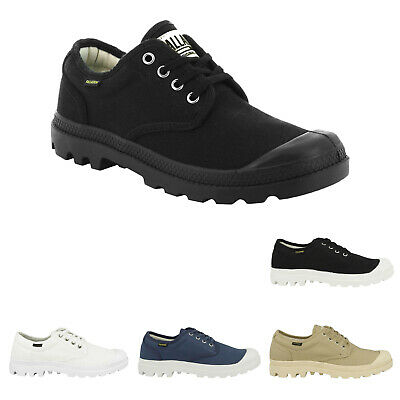 Palladium Pampa Oxford Canvas Mens Womens Low-Top Sneakers Unisex Trainers