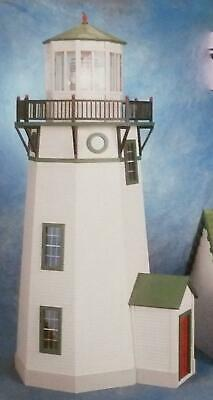 Dolls House Lighthouse Kit Miniature 1:12 Scale Wooden Flat Pack Unpainted