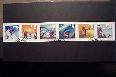 GB 2004 Commemorative Stamps~Christmas~Fine Used Set~S/A~On Piece~UK Seller