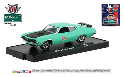 M2 Machines Auto-Drivers 1:64 R56 1970 Ford Torino Cobra (HOLLEY)