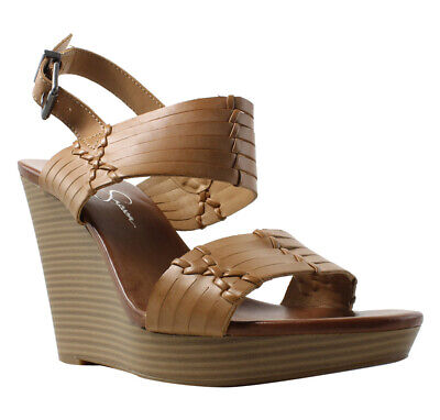 a594405896255 JESSICA SIMPSON BEADED Thong Ankle Strap Sandals Size 9 -  16.80 ...