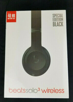 Beats by Dr. Dre Solo3 Wireless On Ear Headphones - Matte Black