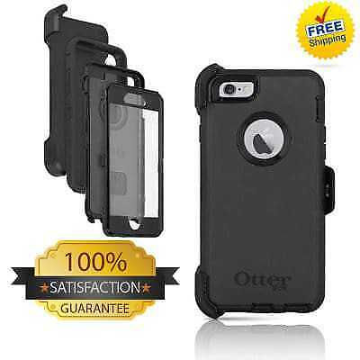 New Otterbox Defender Series Case W/Holster Clip for iPhone 7 Plus &  8 Plus