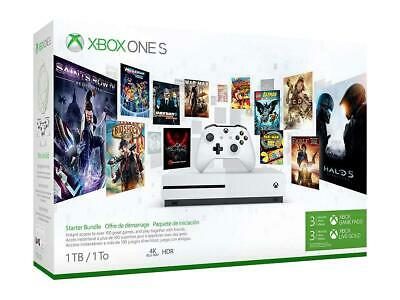 Xbox One S 1Tb Starter Pack Bundle Console